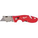 Fastback Flip Utility Knife With Blade Storage