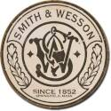 Smith And Wesson 1852 Round Metal Sign