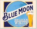 Blue Moon Belgian Wheat Tin Sign