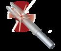 .166-Inch Red GloryNock-G Lighted Arrow Nock 3-Pack