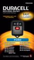Ford Keyless Entry Remote