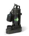 1/3-Horsepower 3600-Gph Anodized Aluminum Sump Pump