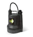 1/4-Horsepower 1980-Gph Manual Submersible Utility Pump