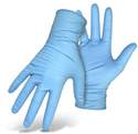 Blue Nitrile Disposable Gloves 24-Pack