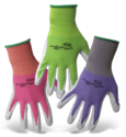 Ladies' X-Small Nitrile Coated Glove, Assorted Colors