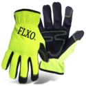 Men's Large High-Visibility Green Mechanic Glove