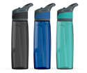 28-Ounce Bpa-Free Tritan Hydration Bottle With One-Touch Push-Button Auto Lid