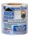 Co-Fair WQR625 Quick Roof 6 In X25 Ft White