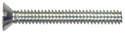 10-32 x 2-Inch Brass Flat Slotted Machine Screw