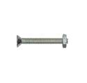 1/4-20 x 4-Inch Flat Head Slotted Stove Bolt Long With Nut