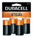 4-Pack Duracell C Batteries