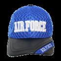Air Force Leather Brim Cap