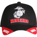 Black Marines 3-Way Cap