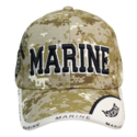 Camo Marines Digital Cap