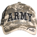 Camo Army Digital Cap
