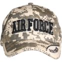 Camo Air Force Digital Cap