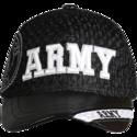 Black Army Jersey Cap
