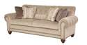Vivienne Sofa In Soap With Small Pewter Nail Head Trim