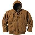 X-Large Saddle Premium Fleece-Lined Hooded Jacket