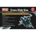 3-Inch Cross Slide Vise