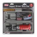 7-Piece Impact Driver Set With Case