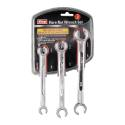 3-Piece 6-Size Sae Flare Nut Wrench Set
