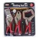 3-Piece Welding Clamp Tool Set