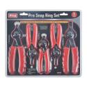 5-Piece Professional Snap Ring Pliers Set