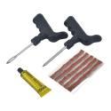 8-Piece Complete Emergency Tire Repair Kit