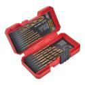 17-Piece Titanium Drill Bit Set