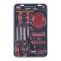 King Tools & Equipment 1591-0 Screwdriver Set With Mag Tray 22pc