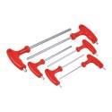 6-Piece T-Handle Hex Key Set