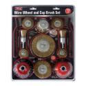 13-Piece Wire Wheel Set
