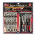 King Tools & Equipment 2014-0 Knife Hobby Kit 33pc Deluxe