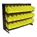 Part And Hardware Storage Rack With 24 Removable Bins
