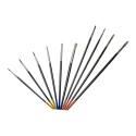 10-Pack Artist Detail Paint Brush Set