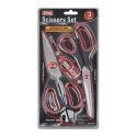 King Tools & Equipment 2511-0 Scissor 3 Piece Set