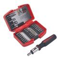 Drill Bit Set Titanium 17pc