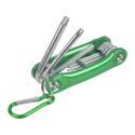 Torx Folding Pocket Hex Key Wrench Set With Key Chain