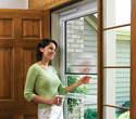 Alternate Image for Larson Doors 37081031 32-Inch Life Core Storm Door With Retractable Screen Away