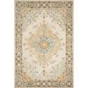 5-Foot X 7-Foot 6-Inch Ivory Multi Ryeland Area Rug By Joanna Gaines