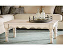 Alternate Image for Magnolia Home 6020101G Antique White Scallop Coffee Table