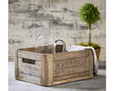 Alternate Image for Magnolia Home 90902008B4 Weathered Wood Crate With Magnolia Logo