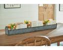 Alternate Image for Magnolia Home 90901005B2 Metal Trough With Wood Handle