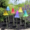 Colorful Mushrooms Garden Decor