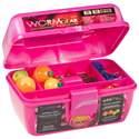 Pink Plastic WormGear Tackle Assortment 88-Piece