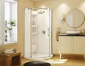 Olympia 36-Inch Round White Acrylic Wall Set Only