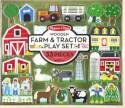 Wooden Farm And Tractor Play Set