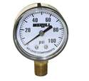 0-100 PSI No-Lead Pressure Gauge
