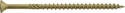 #10 x 3-1/2-Inch Premium Exterior Wood Screw 60-Pack